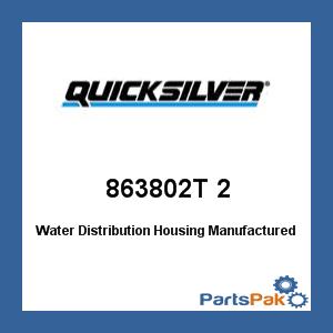 Mercury - Mercruiser 863802T 2 Mercury Quicksilver 863802T 2 Water Distribution Housing-