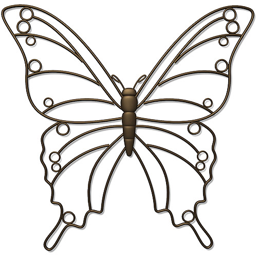 Plastec WD209DB Bella Butterfly