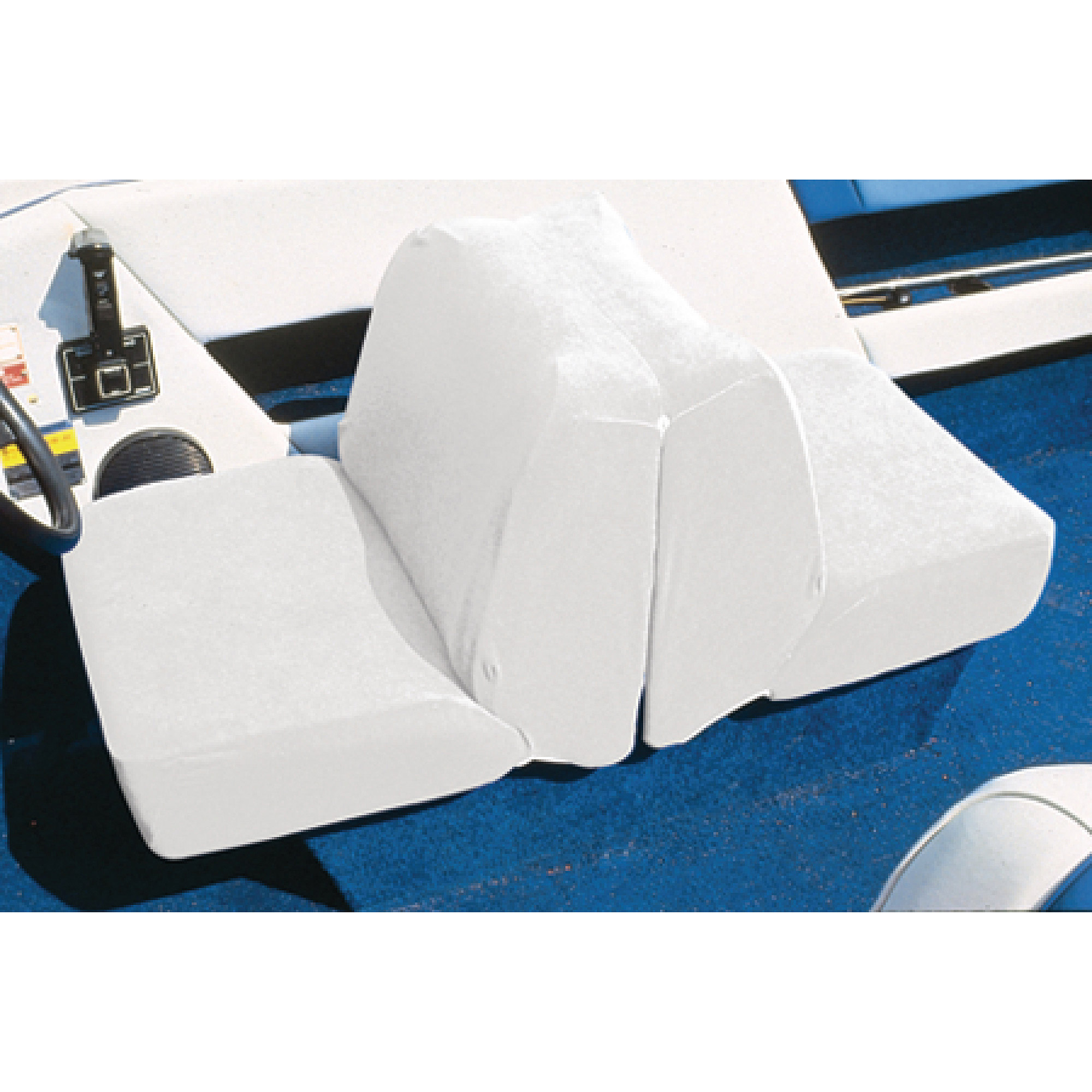 "Taylor Terry Cloth Back to Back Lounge Seat Cover, 18""H x 20""W x 40""D"