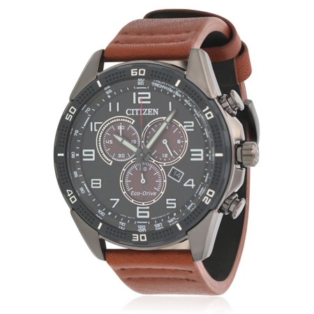 Citizen Drive Chronograph Leather Mens Watch (Mens Leather Watches Citizen Gold)