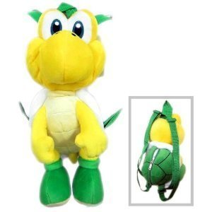 Plush Backpack - Nintendo - Super Mario - Koopa Troopa New Doll Toys nn5475