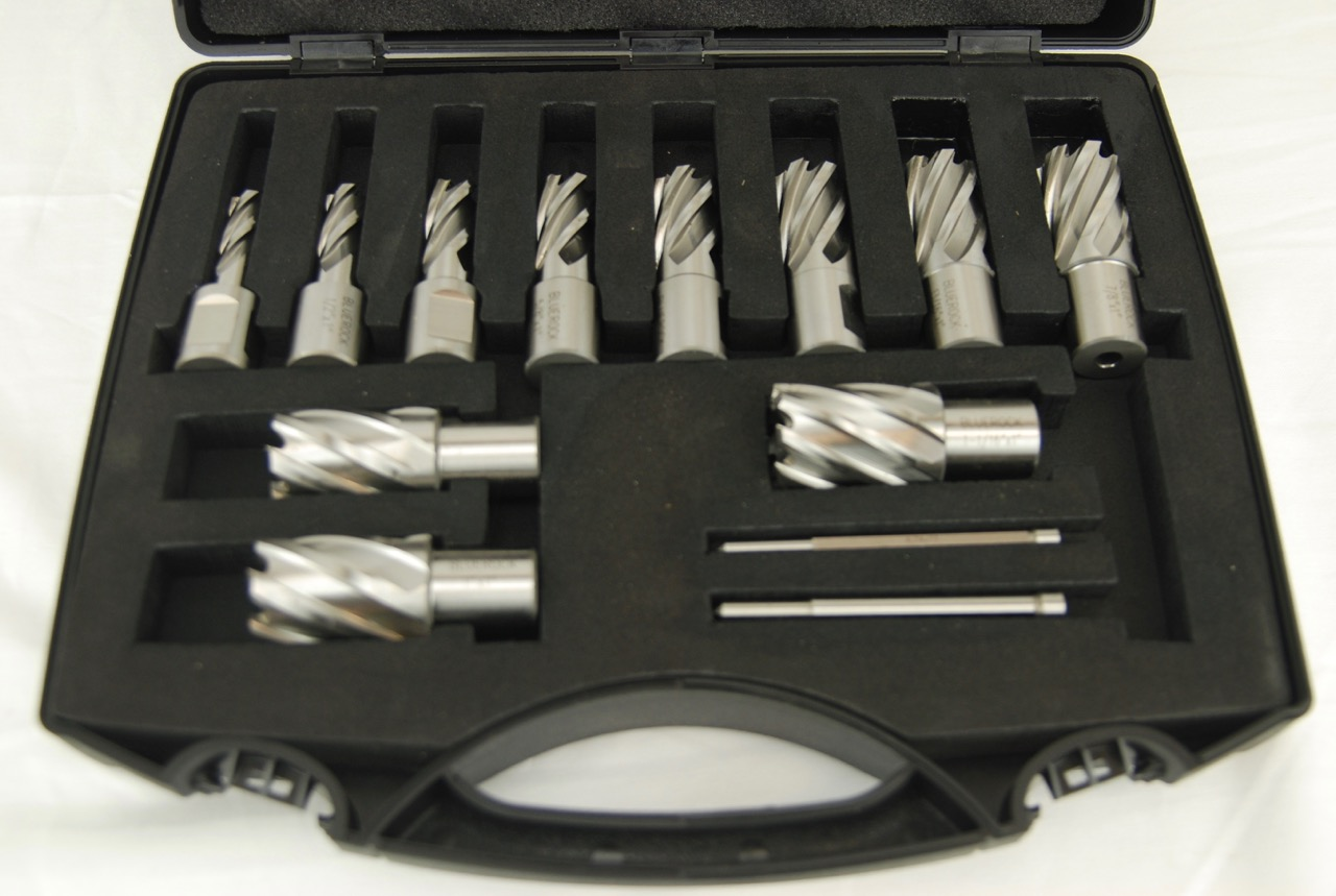 "7//16/"" X 1/"" HSS Annular Cutter Broach 3//4/"" Shank Magnetic Drill W//PIN"