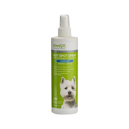 Tomlyn Allercaine Hot Spot Spray for Dogs, 12 oz.