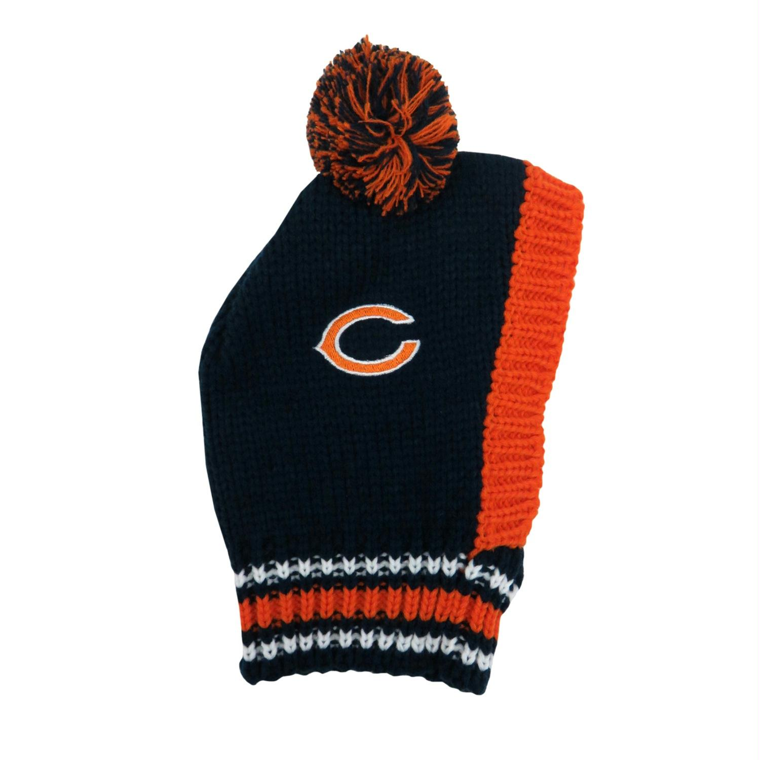 Chicago Bears Pet Knit Hat - Small
