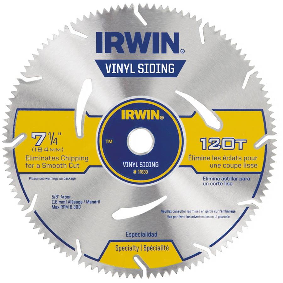 Irwin 11830 7 1 4 Quot 120 Tooth Marathon Vinyl Cutting