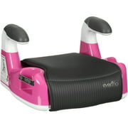 Evenflo AMP Performance DLX Backless Booster Car Seat, Red