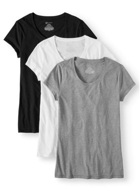322be233 Product Image No Boundaries Juniors' Short Sleeve Tee 3-Pack Value Bundle