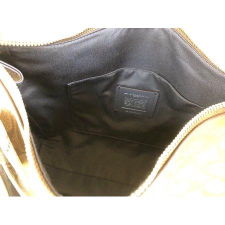 07702832af6a Coach F28967 Mia Shoulder Bag Signature Large Tote Crossbody Khaki Saddle -  Walmart.com