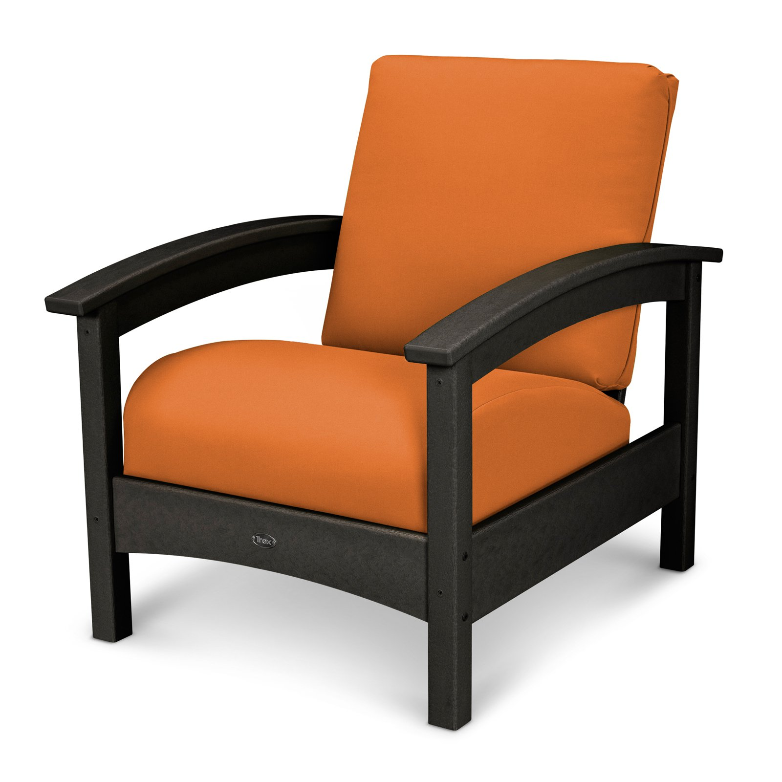 Trex Outdoor Furniture Recycled Plastic Rockport Club Chair
