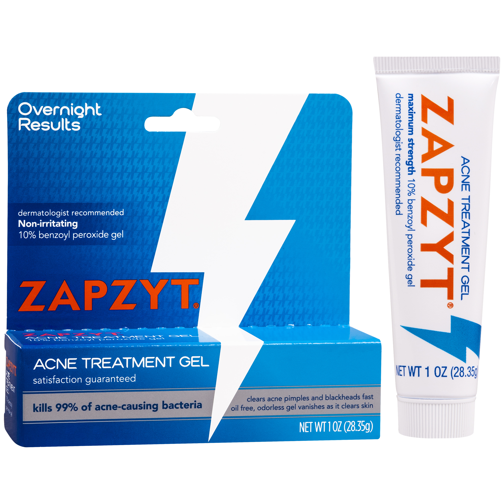 Zapzyt Acne Treatment Gel 1 Oz Walmart Com Walmart Com