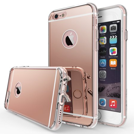 wholesale dealer 46322 3b350 iPhone 6S Case, Ringke [FUSION MIRROR] Bright Reflection Radiant Luxury  Mirror Case - Rose Gold