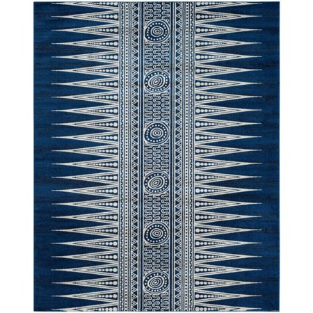 Safavieh Evoke 3' X 5' Power Loomed Rug in Royal and Ivory - image 2 of 8