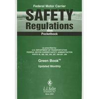 Federal Motor Carrier Safety Regulations Pocketbook (Paperback)