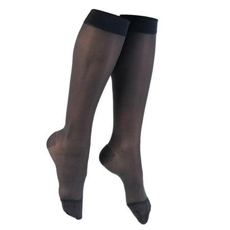 f7da4f6a14484 Venosan Legline Closed Toe Knee Highs -20-30 mmHg Wide - Walmart.com