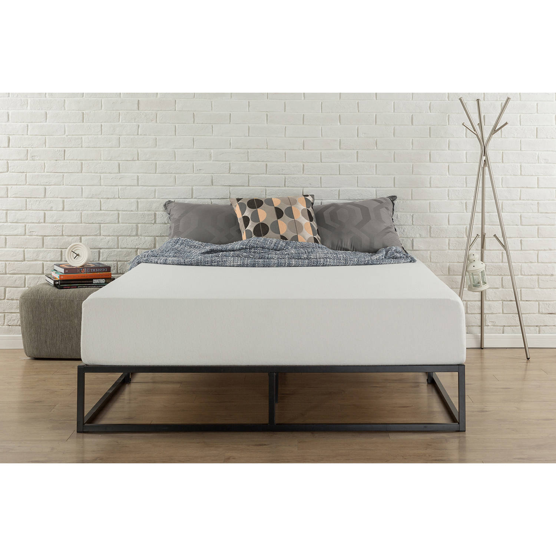 Zinus Joseph Modern Studio 10 Platforma Low Profile Bed Frame Twin Walmart Com Walmart Com