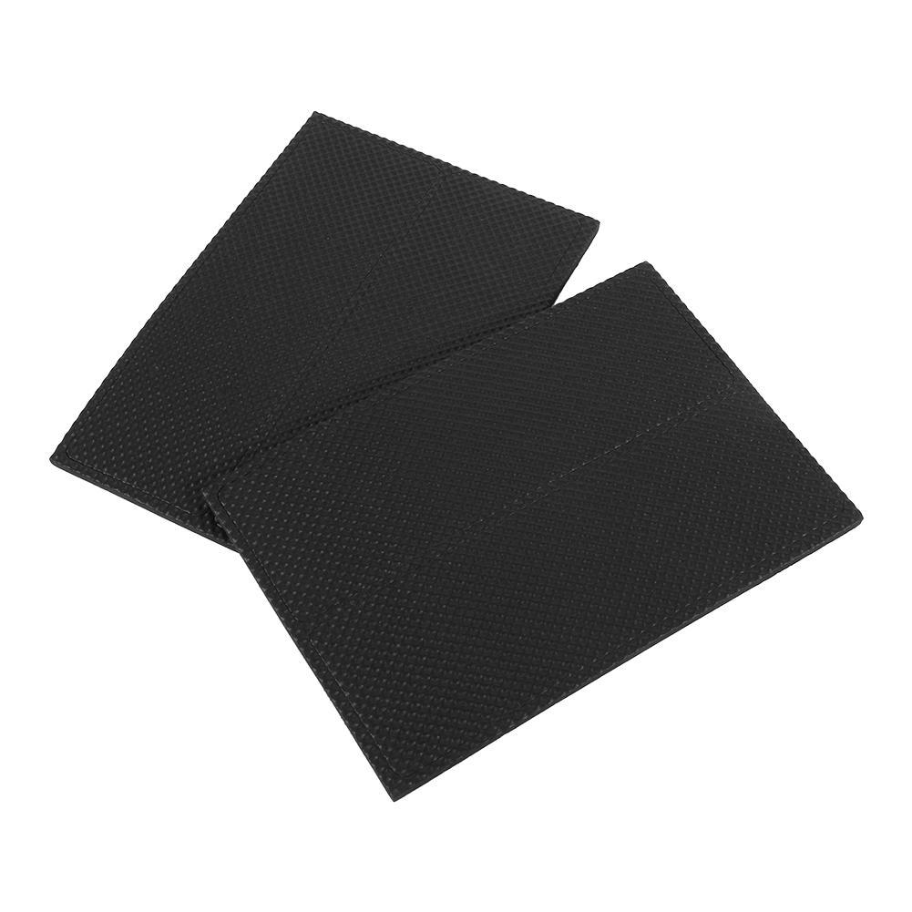 Yosoo 4pcs Black Non Slip Self Adhesive Floor Protectors