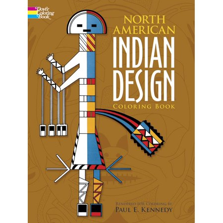 Dover Design Coloring Books: North American Indian Design Coloring ...