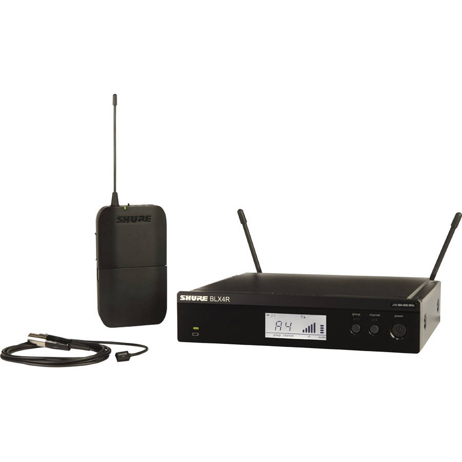Shure BLX 14RW93 Rackmountable Lavalier Wireless Microphone System by Shure