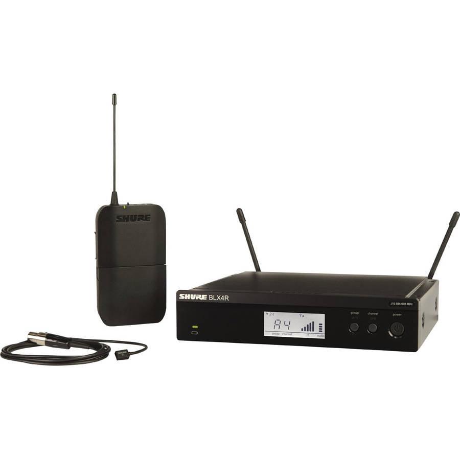 Shure BLX 14RW93 Rackmountable Lavalier Wireless Micropho...
