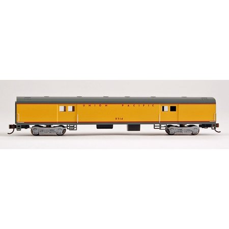 Bachmann N Scale Train 72' Smooth Side Baggage Car Union Pacific 14454