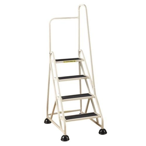 Cramer Industries 4-Step Right Handrail Step Stool by Cramer