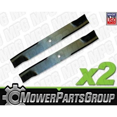 D657 (2) Hi-Lift Blades fits Murray 40