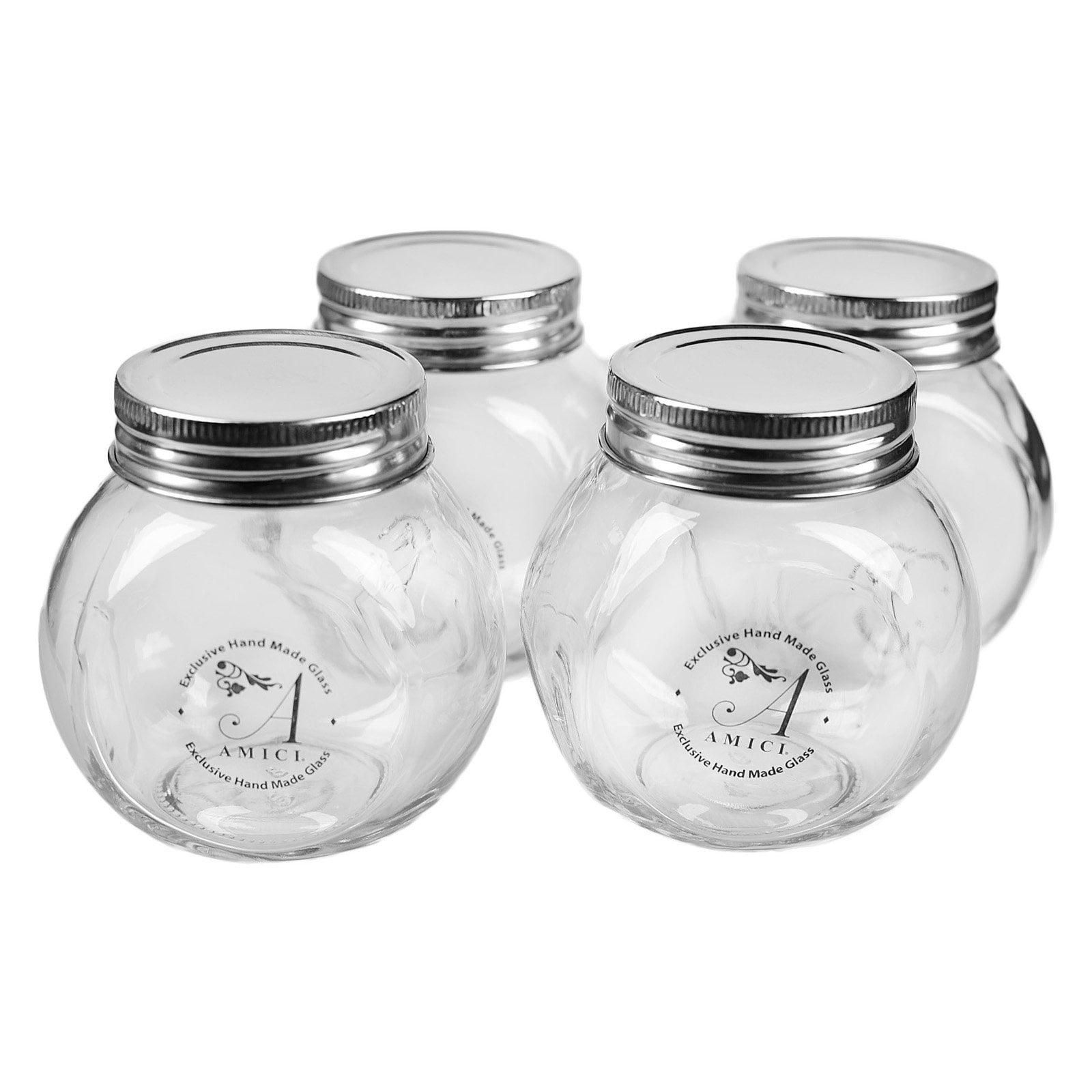 Global Amici Basic Spice Jars - Set of 12