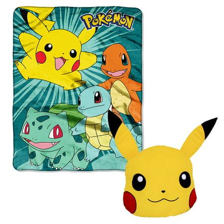 Pokemon Throw and Pillow Bundle](Pokemon Home Decor)