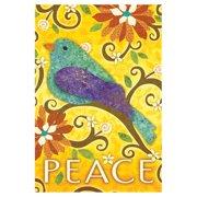Toland Home Garden Bird of Peace Flag