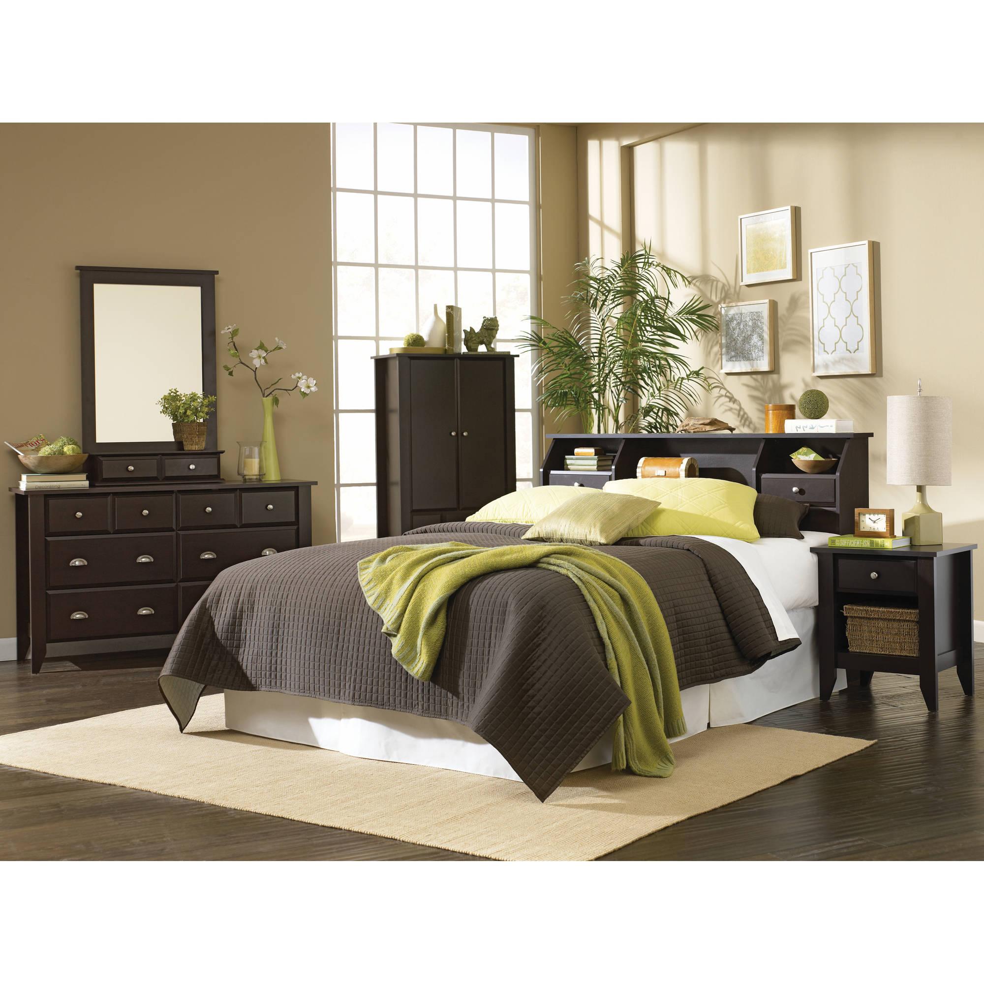 Sauder Shoal Creek Bedroom Furniture Collection Walmart