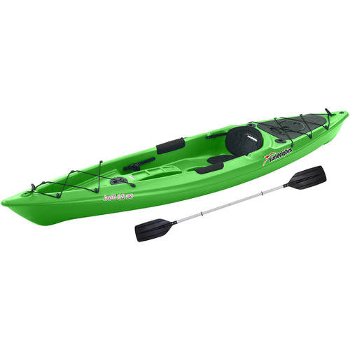 Sun Dolphin Bali Sit-On 12' Kayak, Paddle Included