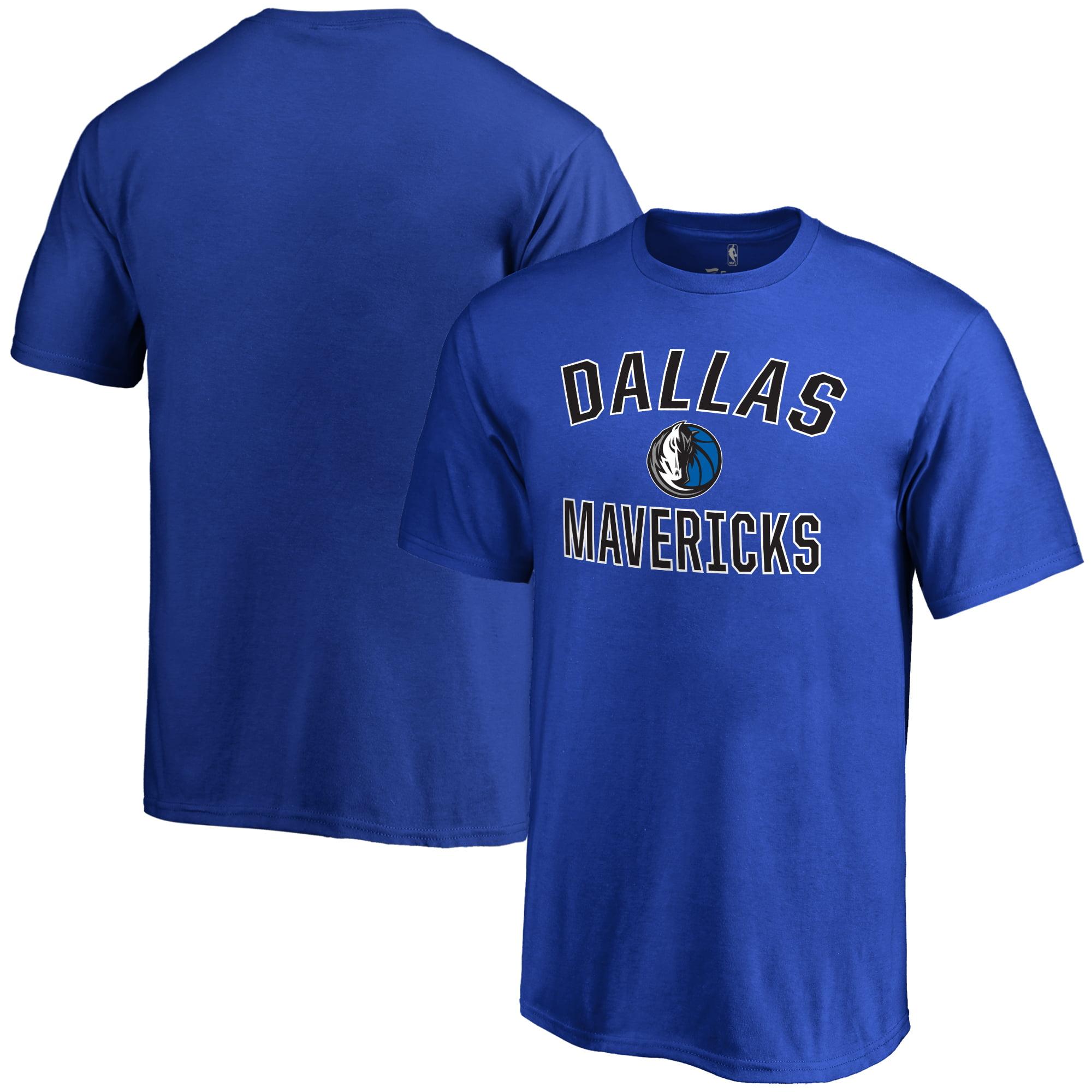Dallas Mavericks Youth Victory Arch T-Shirt - Royal