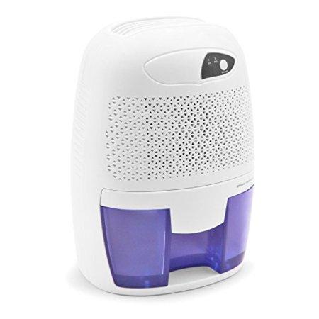 Hysure Portable Mini Dehumidifier Air Purifier 2200 Cubic Feet Electric Safe Dehumidifier For