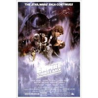 Star Wars The Empire Strikes Back 36x24 Movie Art Print Poster Harrison Ford Mark Hamill Carrie Fisher Billy Dee Williams George Lucas