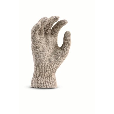 Fox River Mid Weight Adult Cold Weather Glove, Large, Brown Tweed - image 1 of 1