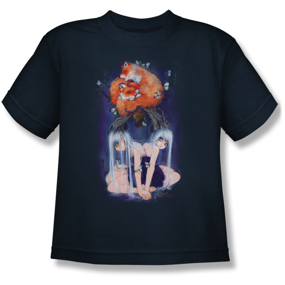 Helmetgirls Men's  The Bonded Tree Youth T-shirt Blue