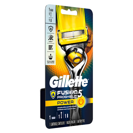 Gillette Fusion ProShield 5 Power Mens Razor 1.0 ea(pack of 1)