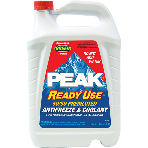 Peak Ready-To-Use 50/50 Anti-Freeze, 6ct