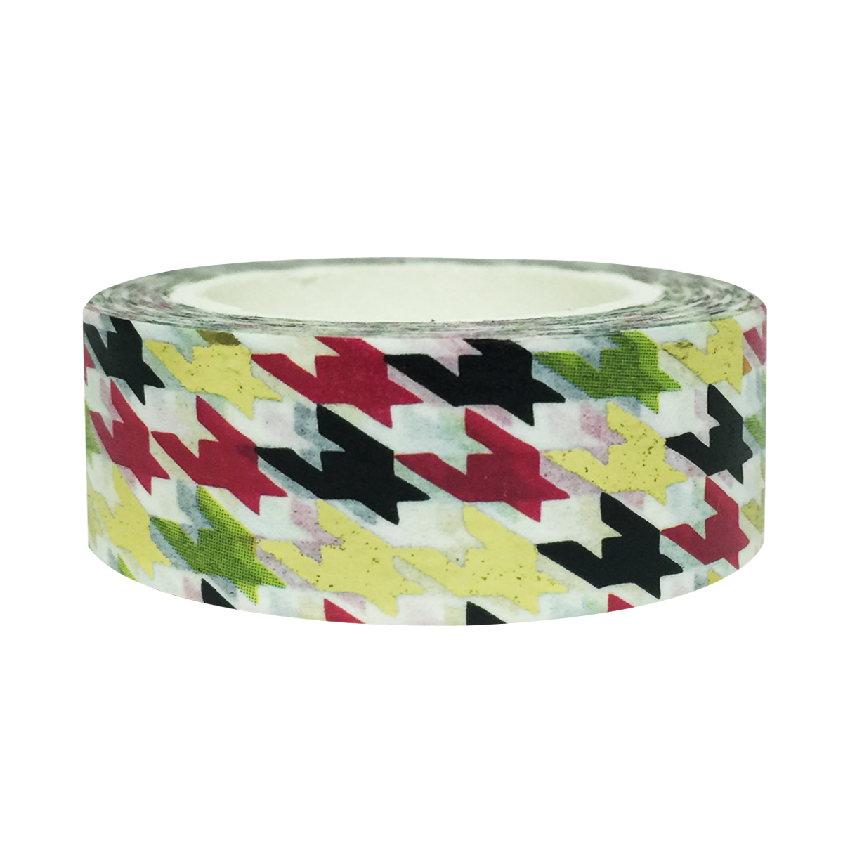 Wrapables® Colorful Washi Masking Tape, Digital Houndstooth