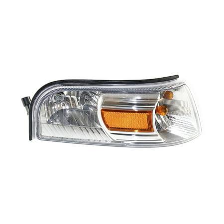 NEW LEFT DRIVER TURN SIGNAL LIGHT FITS MERCURY GRAND MARQUIS 2006-07 6W3Z13201AA FO2526103 6W3Z-13201-AA 6W3Z 13201 AA