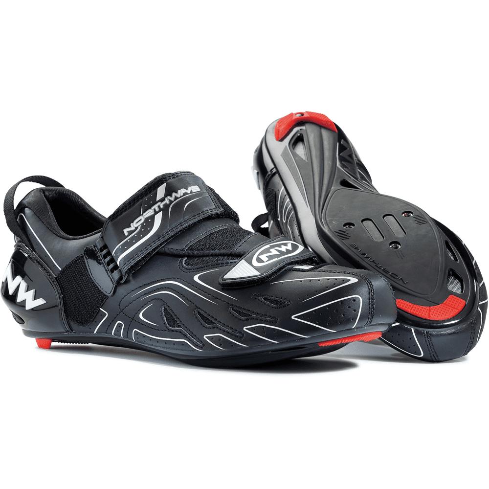Northwave TriSonic Triathlon Road Cycling Shoes Black 41 EU