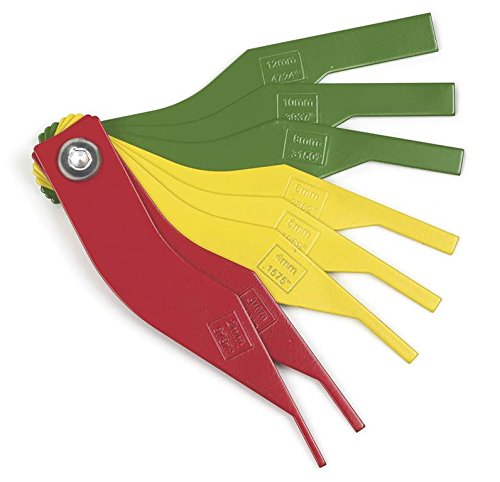 3962 Brake Lining Thickness Gauge, Each BRAKE Set Store KDT3962 Solid Gauge Piece KD GearWrench Brake... by