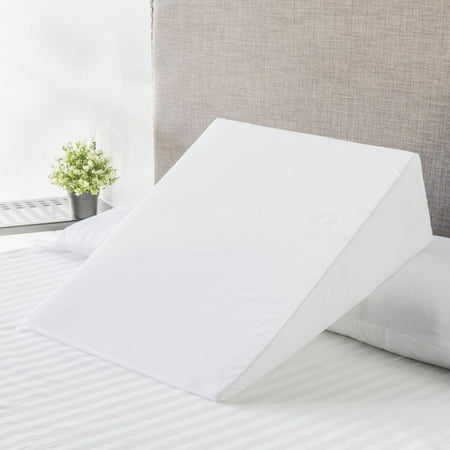 Mainstays Foam Bed Wedge Pillow, 1 Each (Best Back Support Pillow For Bed)