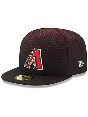 Product Image Arizona Diamondbacks New Era Infant Authentic Collection  On-Field My First 59FIFTY Fitted Hat - 17e201c0a7b2