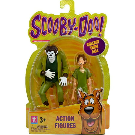 Scooby Doo Shaggy & The Wolfman Action Figure 2-Pack