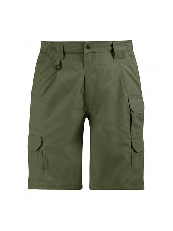 Mens Shrink/Wrinkle Resistant Ripstop Polyester/Cotton Tactical Shorts