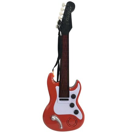 Elegantoss Electronic Toy Guitar with Sound and Lights Electric Guitar With  Preset Music And Great Sounds