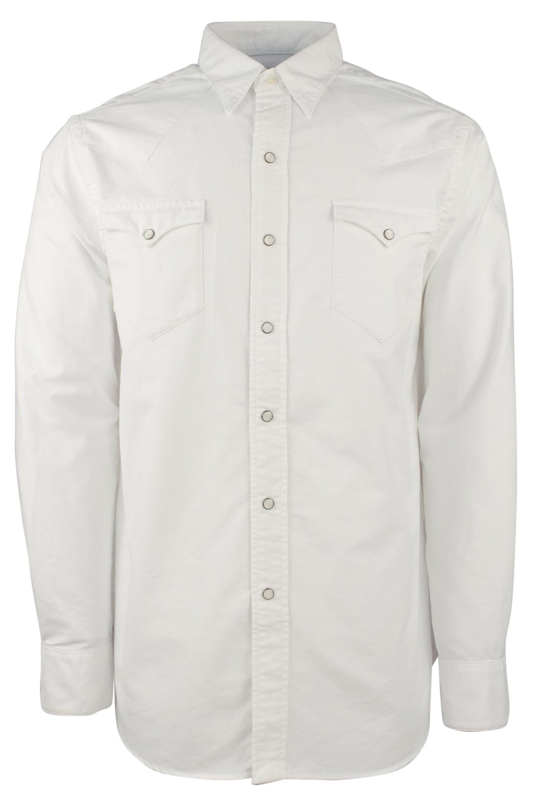 Polo Ralph Lauren Men/'s Classic Fit Western Oxford Shirt