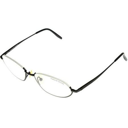Porsche Design Prescription Titanium Eyeglasses Frames Unisex P7009 C Semi- Rimless Size: Lens/ Bridge/ Temple: (Titanium Rimless Eyeglasses)
