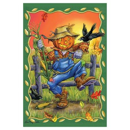 - Toland Home Garden Dancing Scarecrow Flag